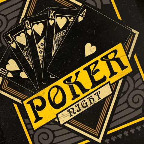 PSD Flyer template - Poker Tournament